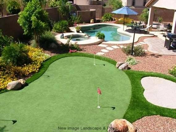 Get your own putting green at home from New Image