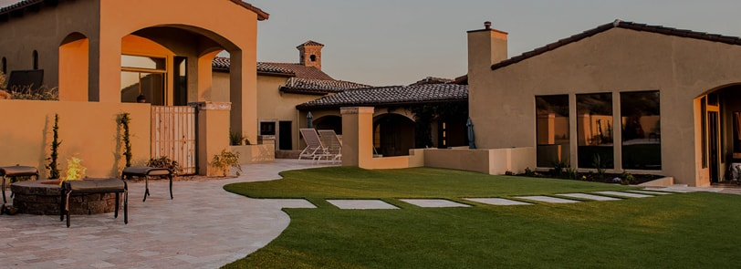 example of our incredible custom landscaping mesa az