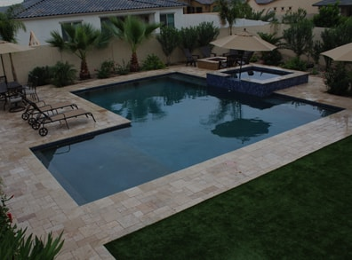 Mesa arizona custom pool builders and landscaping new image for Pool builders in az