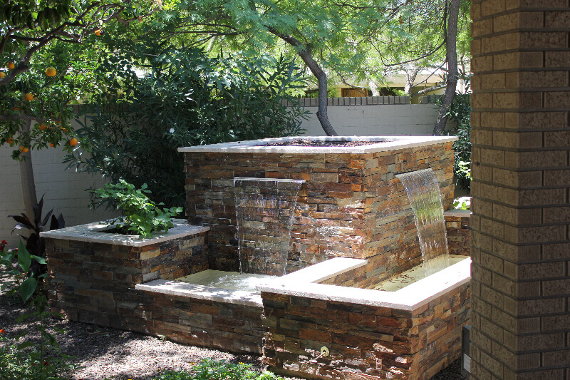 Three of our favorite Arizona water features all built into one solid structure.