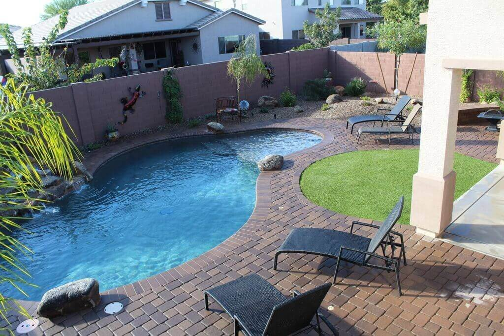 One of those pools in Arizona where all the neighbor kids like to hang out at.