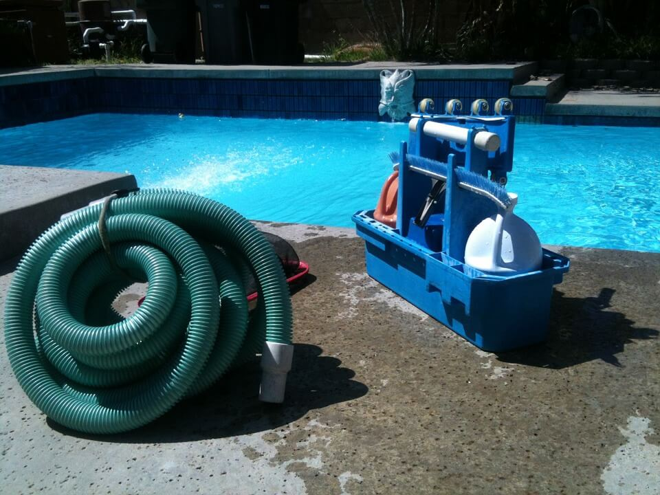 The type of stuff our Arizona pool service uses to keep your pool in tip top shape.