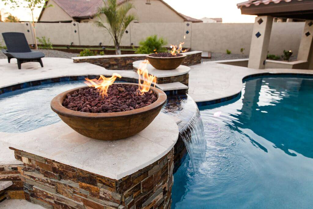 The Gilbert pool we were happy to build for one of our nicest clients.