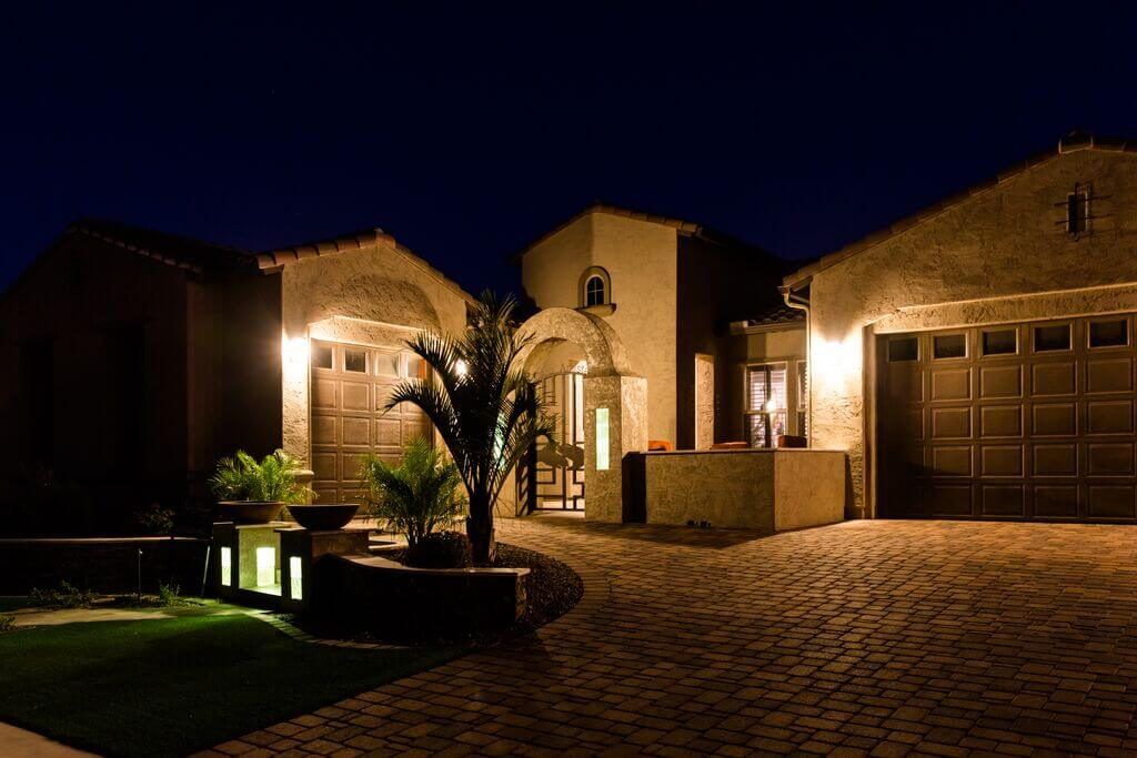 Exterior accent lighting for your home