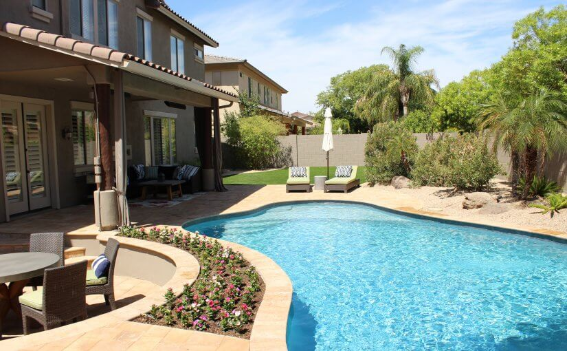 Scottsdale backyard pool by New Image