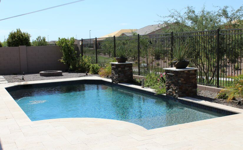 Scottsdale back yard pool