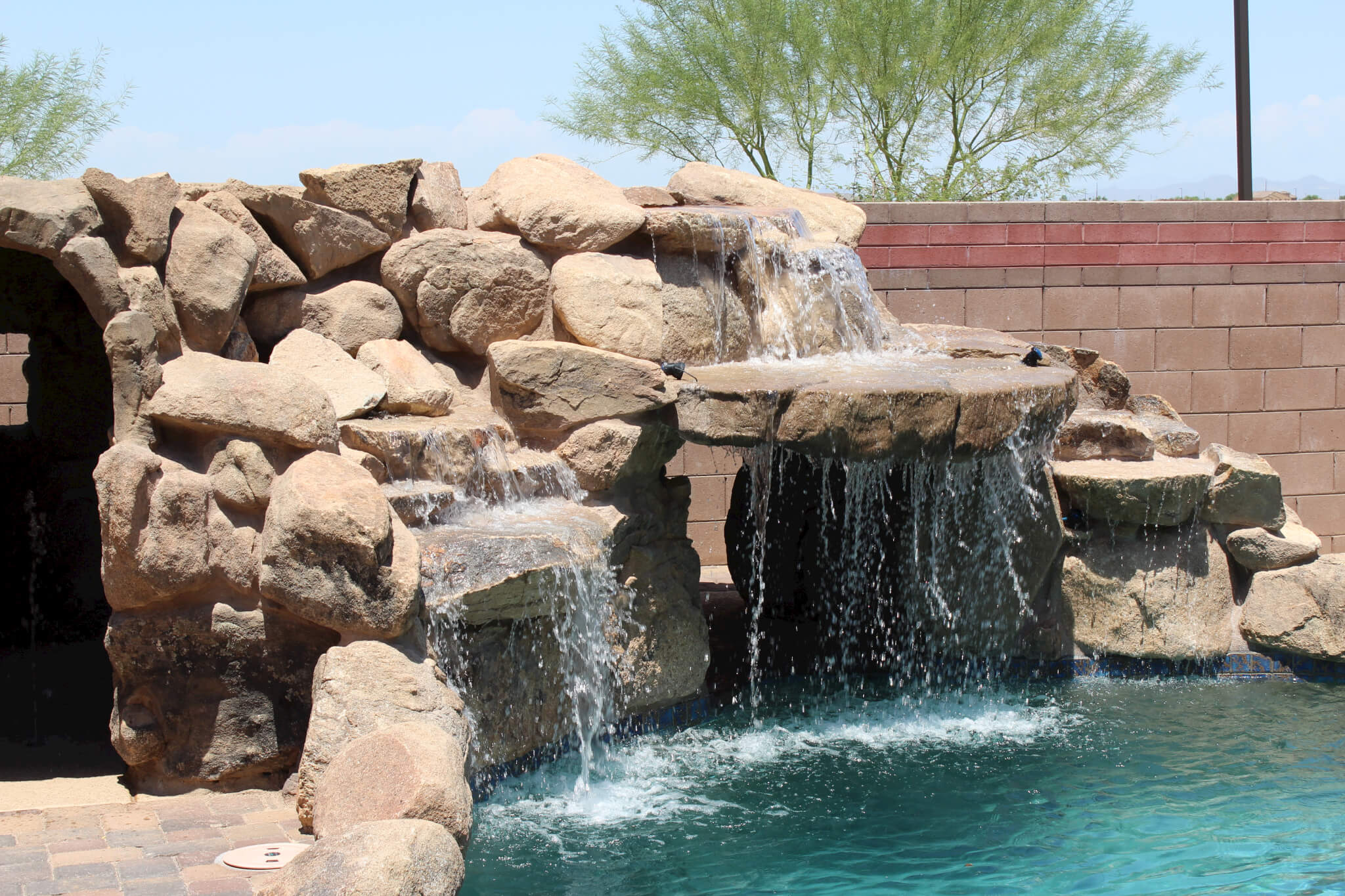 the handiwork of the best pool builders in AZ
