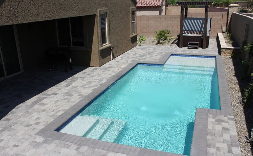 Backyard pool Scottsdale Arizona