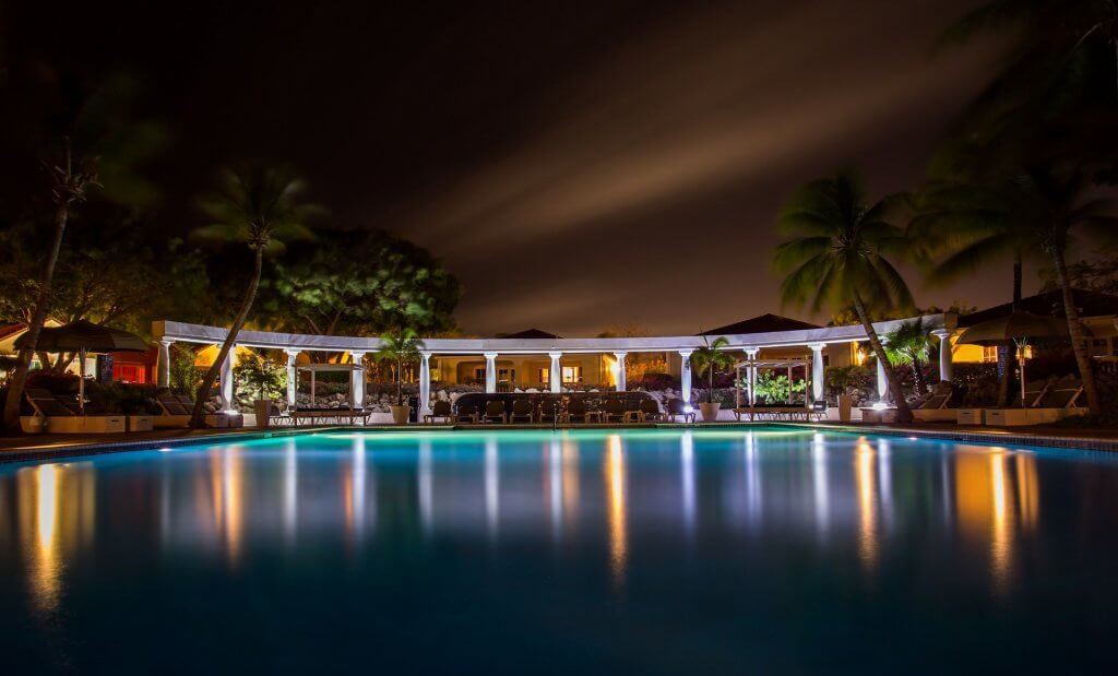 The very best accent outdoor pool lighting we've ever had the experience to view up close.
