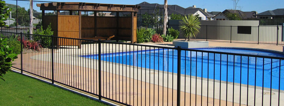 Pool Fence Options From New Image Landscape And Pools