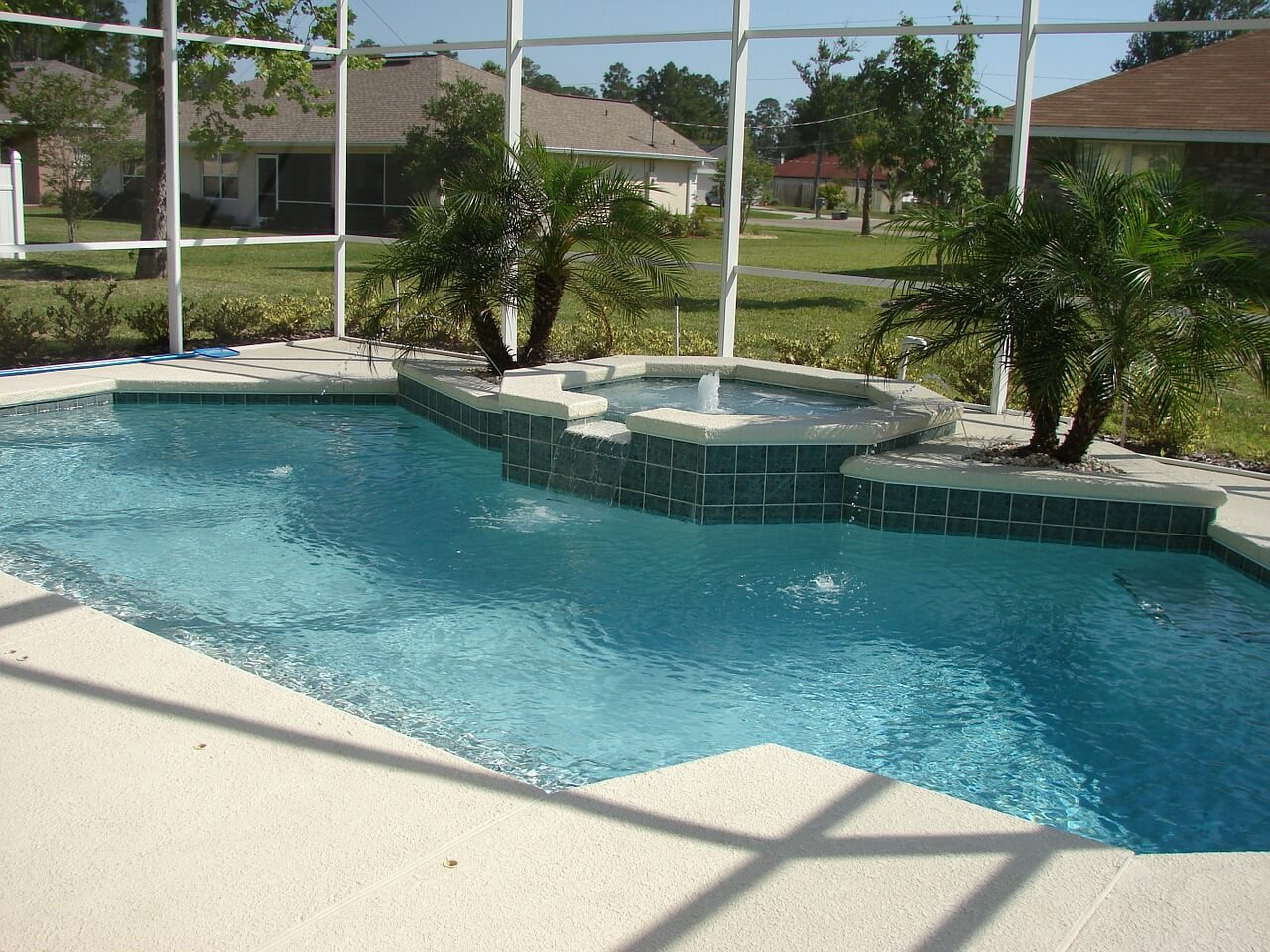 maintain decking with New Image Landscape and Pools today