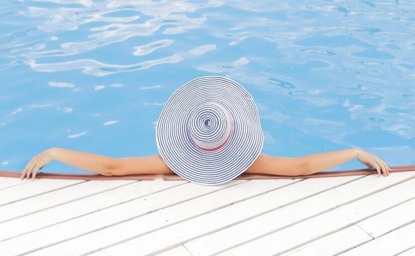 Woman enjoying her Arizona spa